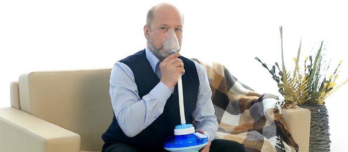 Дыхательный тренажер «Самоздрав»